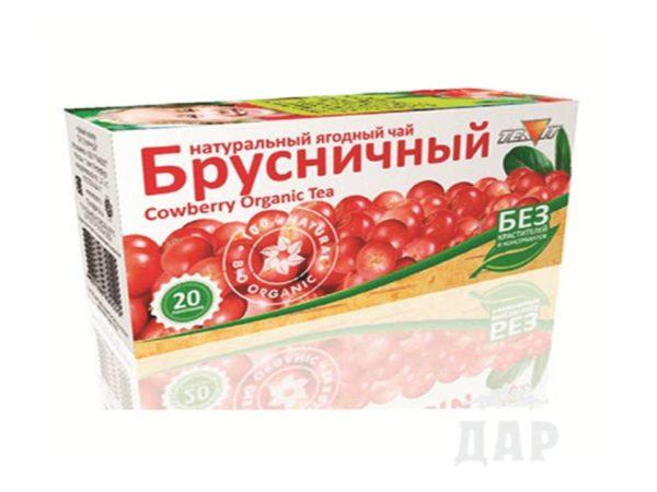 """Чайный напиток """"Брусничный"""""""