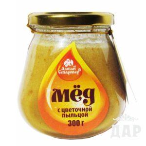 Мед с пыльцой