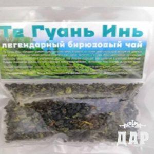 Зеленый чай Те гуань инь