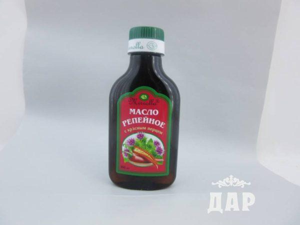 Масло репейное с красным перцем