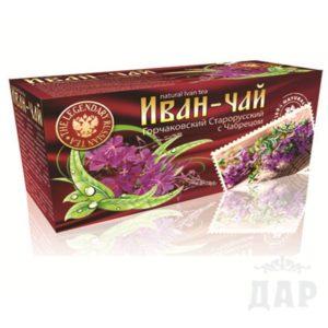 """Иван чай """"Горчаковский"""" старорусский с чабрецом"""