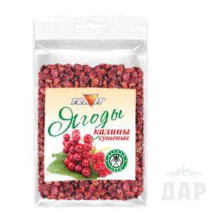 Калины ягоды
