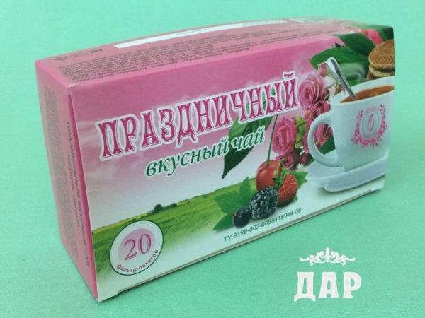 Праздничный вкусный чай