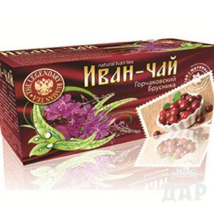 "Иван чай ""Горчаковский"" брусника"