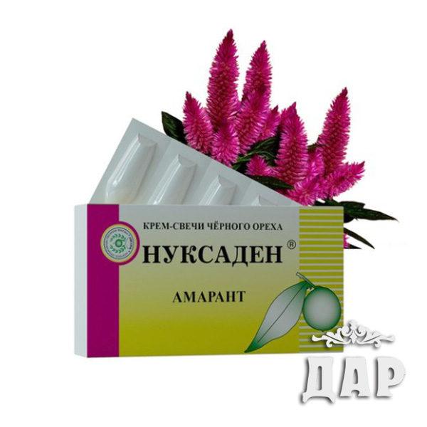 КРЕМ-СВЕЧИ «НУКСАДЕН» АМАРАНТ