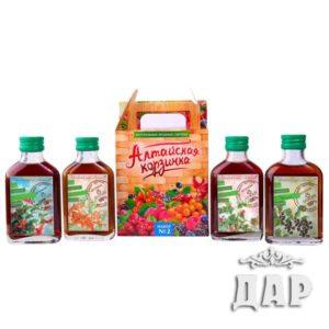 ягодные сиропы «Алтайская корзинка»