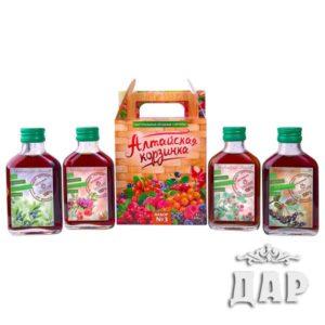 Антипростудные витаминные сиропы из Алтая