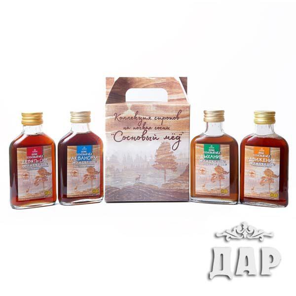 Подарочный набор «Сосновый мёд»