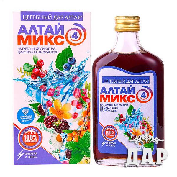 Сироп Алтаймикс энергетический