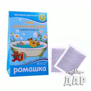 Травы для купания детей с раннего возраста «Ромашка»