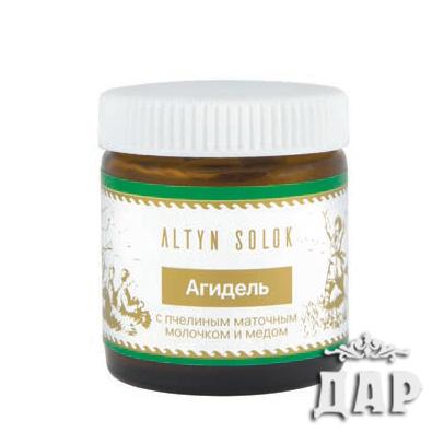 Крем «Агидель» с пчелиным маточным молочком и мёдом