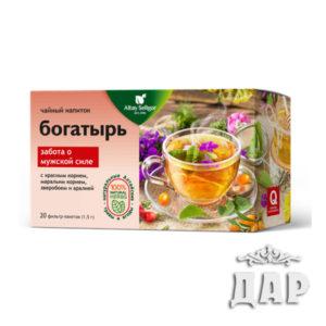 """Травяной чай """"Богатырь"""""""