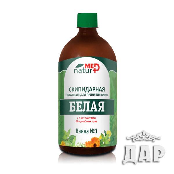 """Эмульсия скипидарная """"Белая"""" с экстрактами 38 трав"""