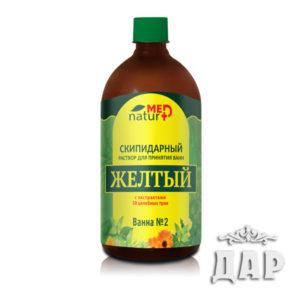 """Раствор скипидарный """"Желтый"""" с экстрактами 38 трав"""