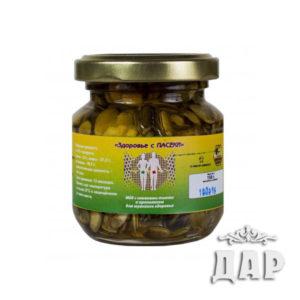 Мед с семенами тыквы и прополисом